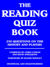 The Reading Quiz Book (eBook)